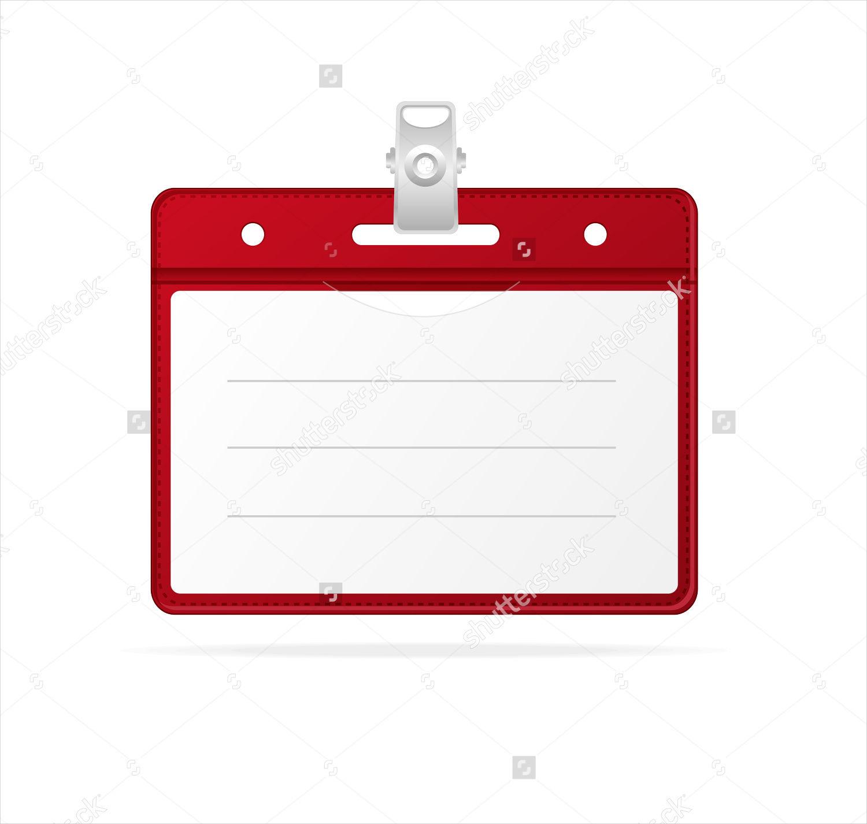 Blank Identity Card