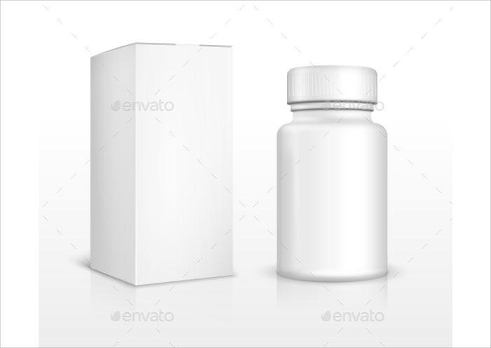 blank medicine packaging