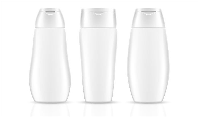 blank shampoo bottles cosmetic container