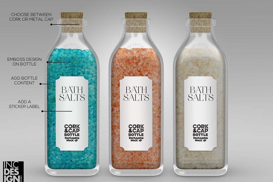 bottle packaging label