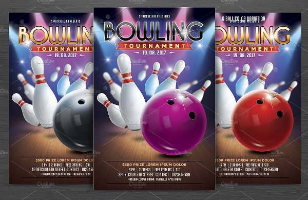 bowling tournament flyer1