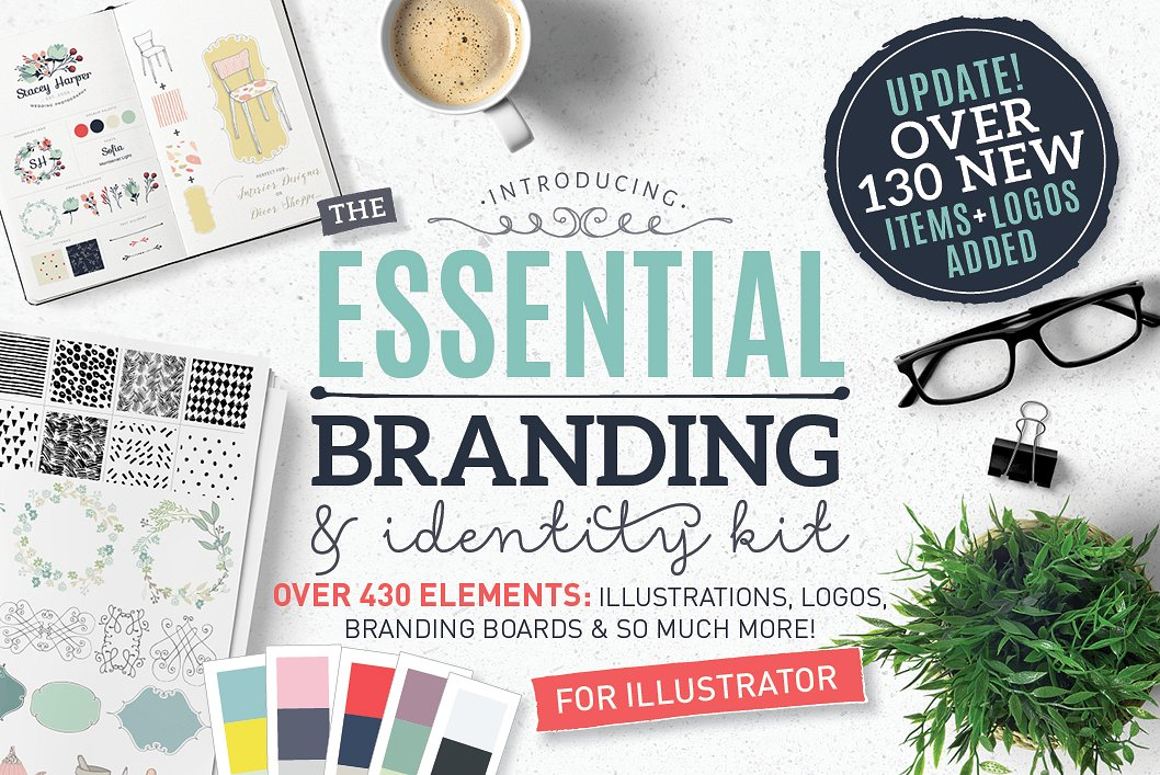 brand identity illustration