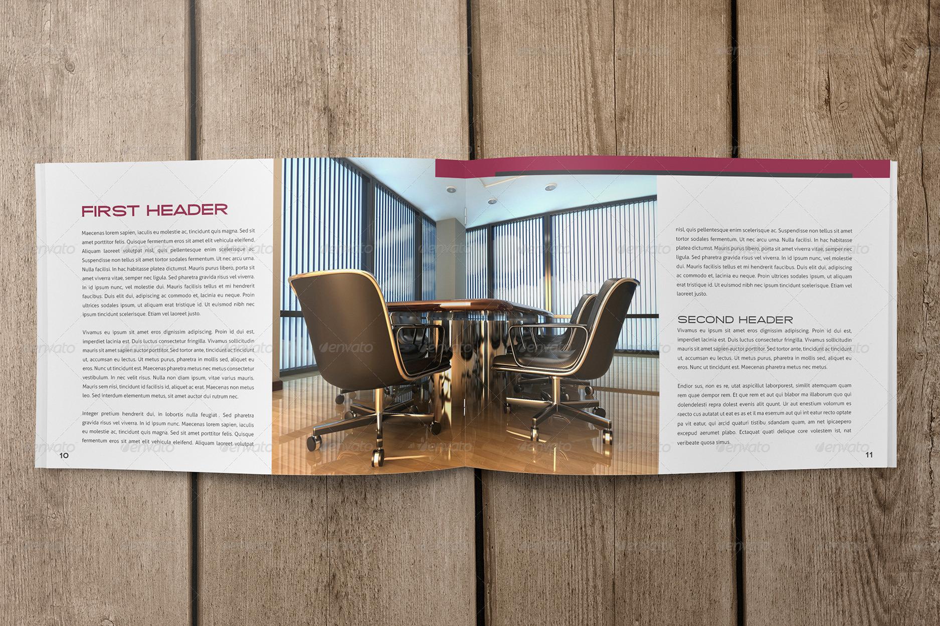 business booklet design