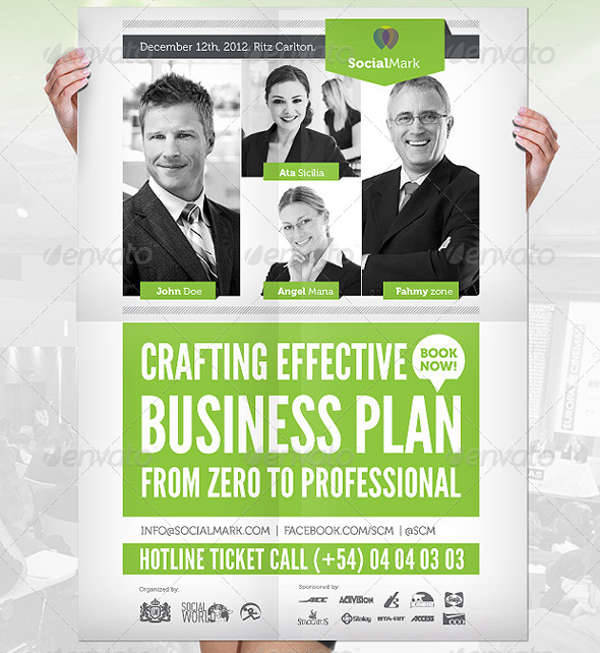 Business Event Flyer Poster
