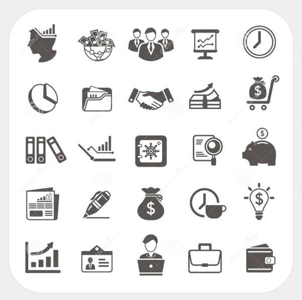 Business Finance Icons