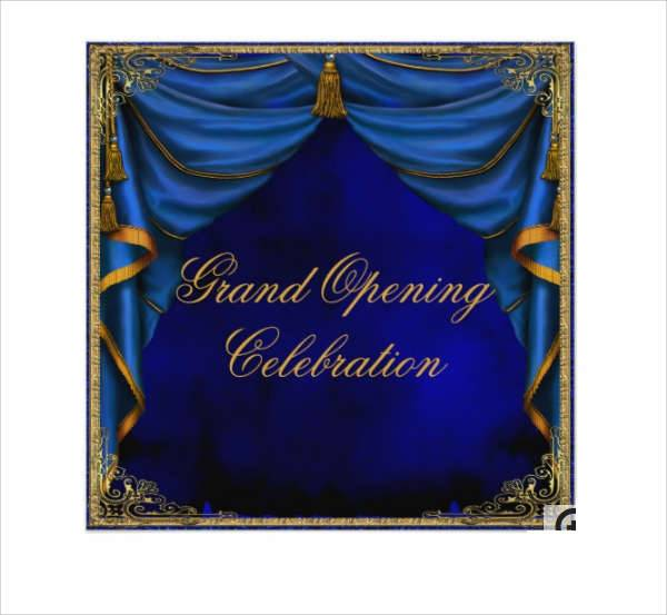 Business Grand Opening Invitation