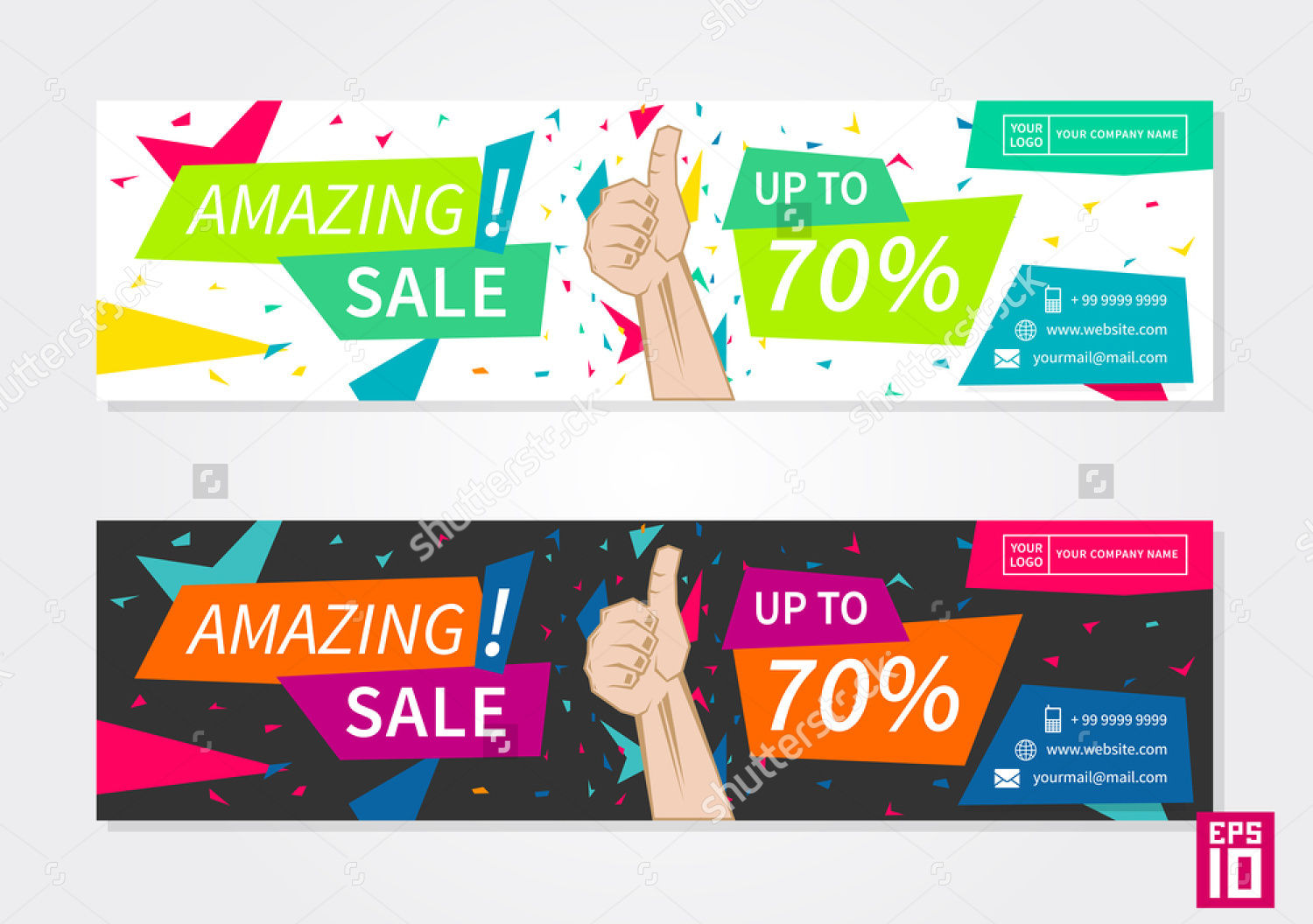 business promotion banner