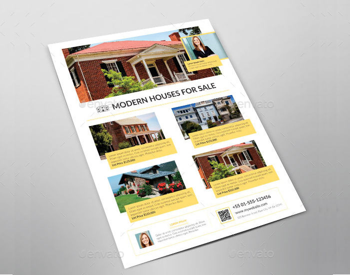 Business Promotion Houses for Sale Flyer