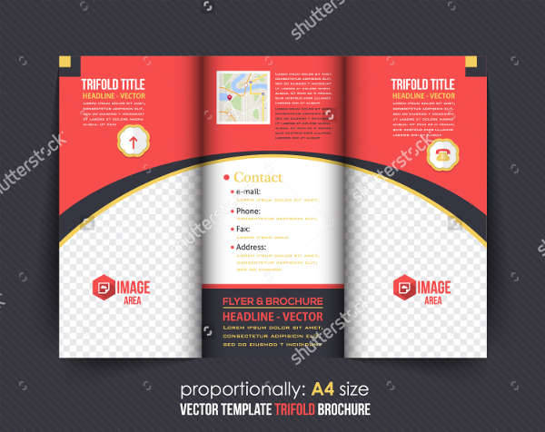 Business Service Trifold Catalog