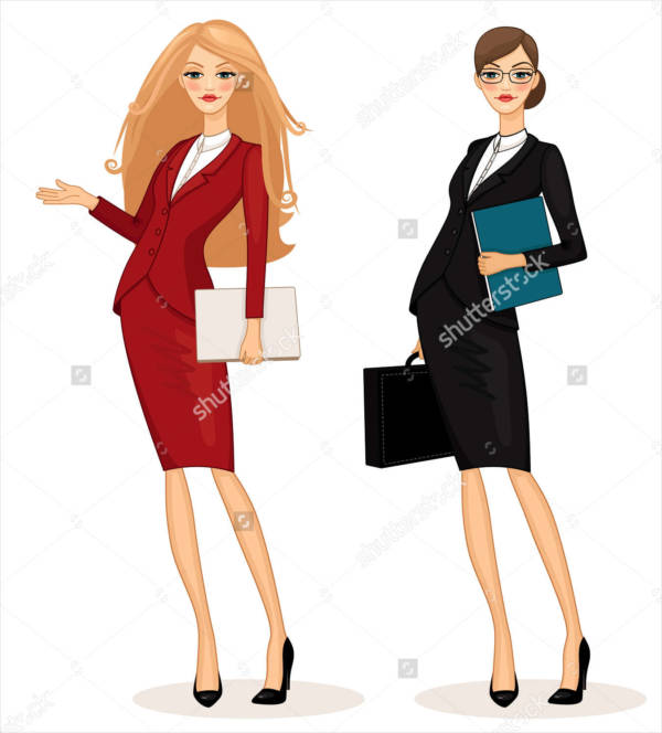 Business Women Illustration