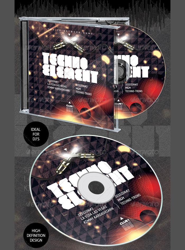 cd artwork packaging
