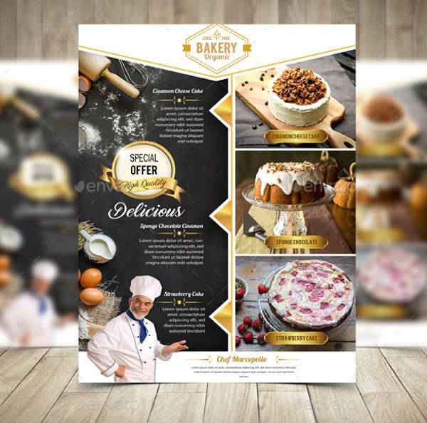 Bakery Flyers Design Trends Premium PSD Vector Downloads - Bakery brochure template free