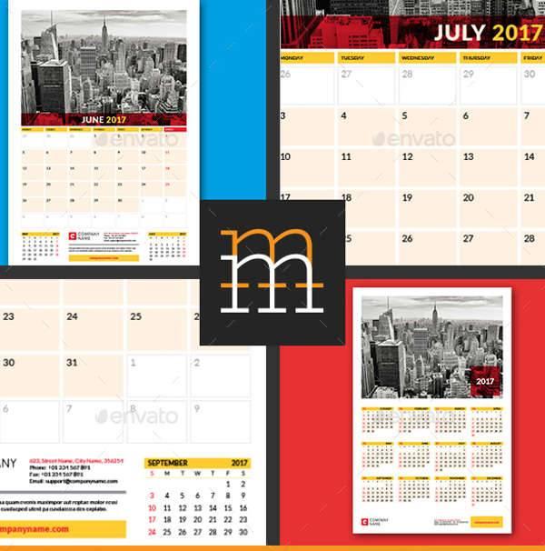 Calendar Planner Poster