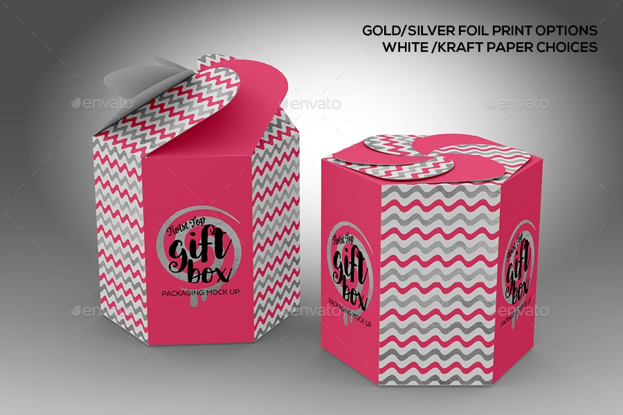candy gift box packaging