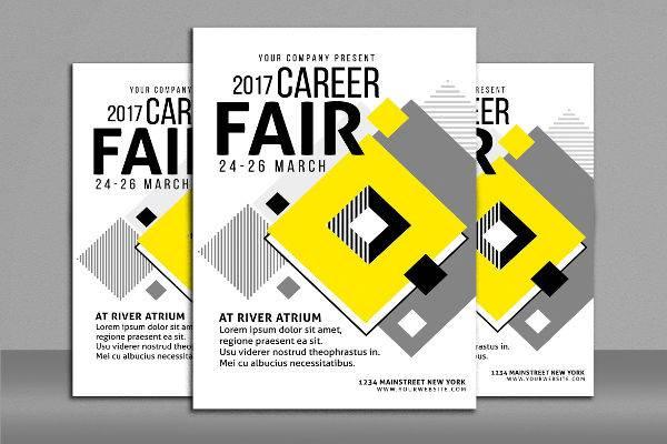 Career Fair Flyer Design