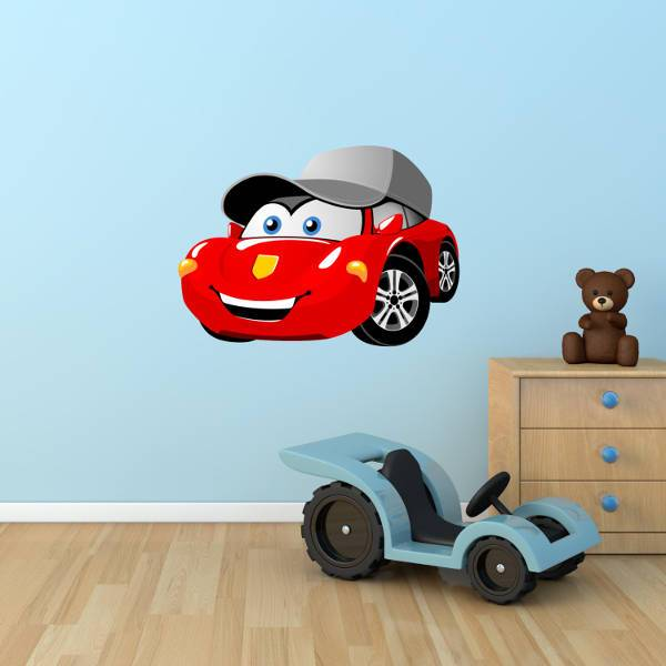Cartoon Car Sticker