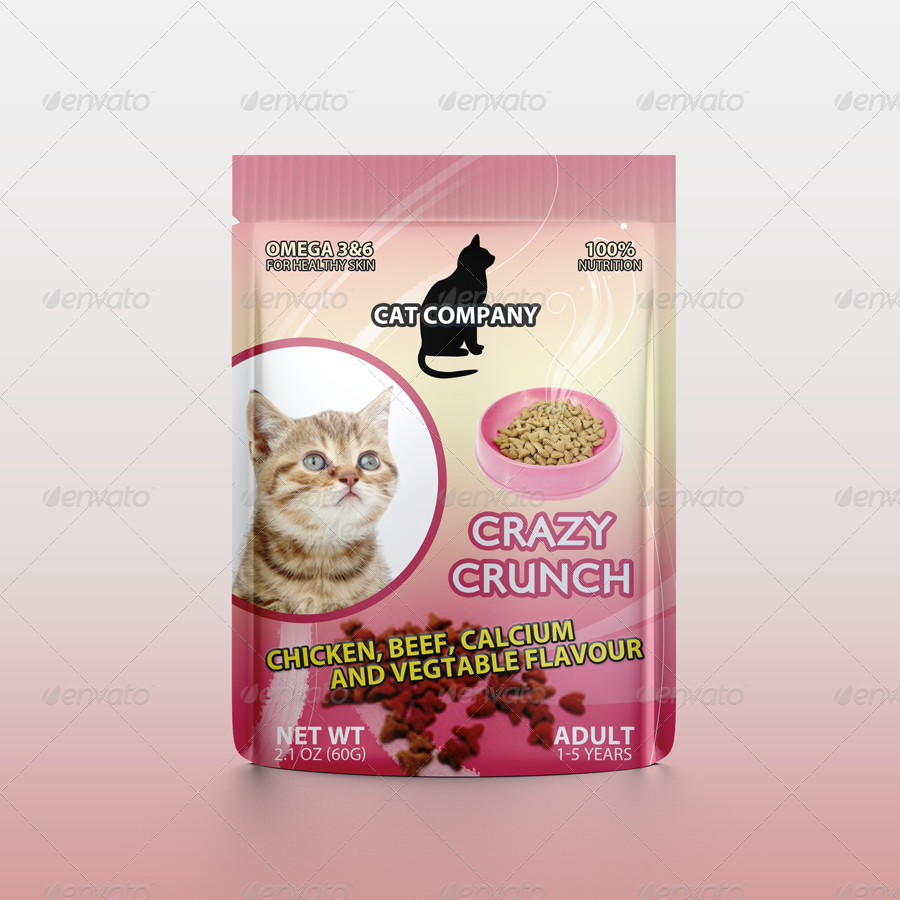 cats food packaging