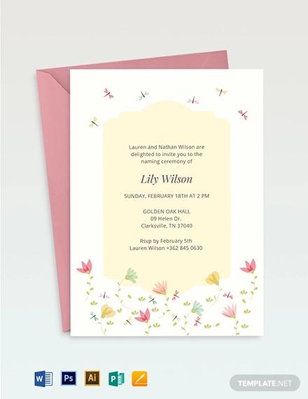 ceremony invitation