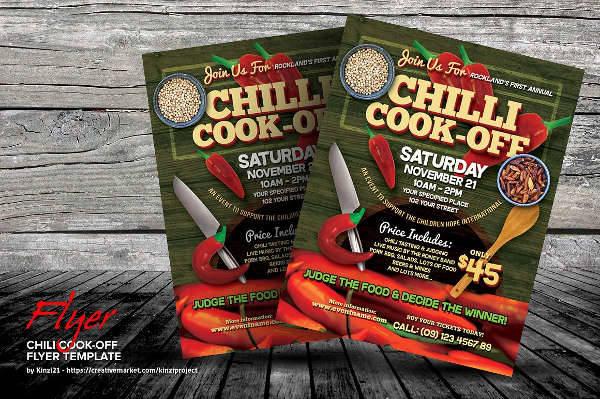 21  cooking flyer designs