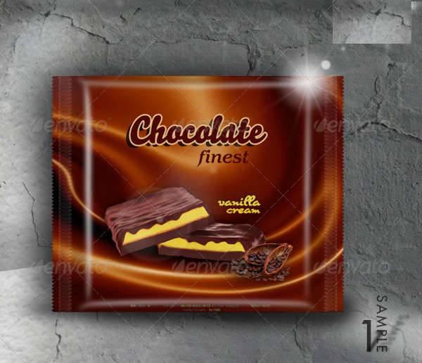 Chocolate Food Packaging Design