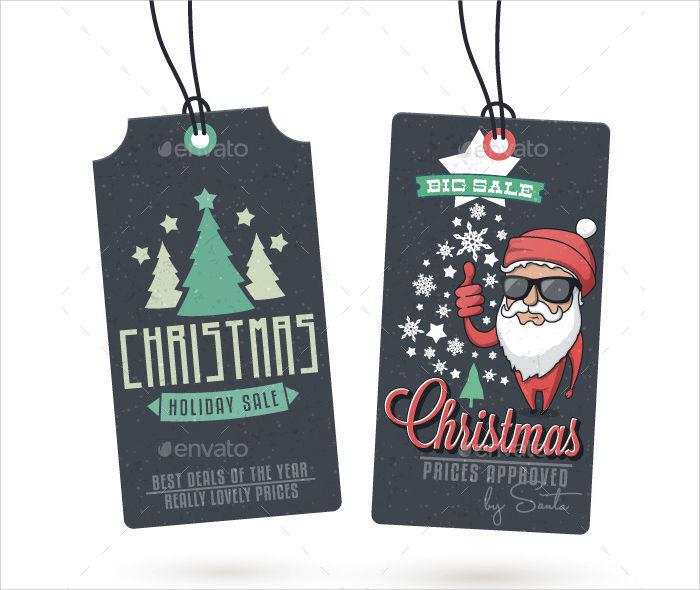 christmas sales vintage hang tags