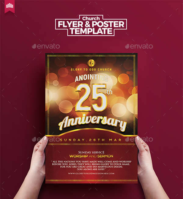 10+ Anniversary Party Flyers