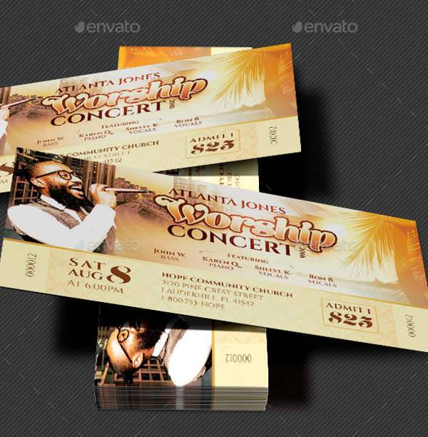 Church Concert Ticket