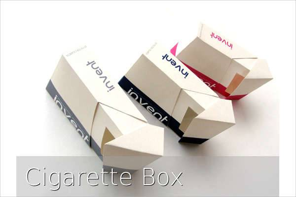 cigarette box packaging