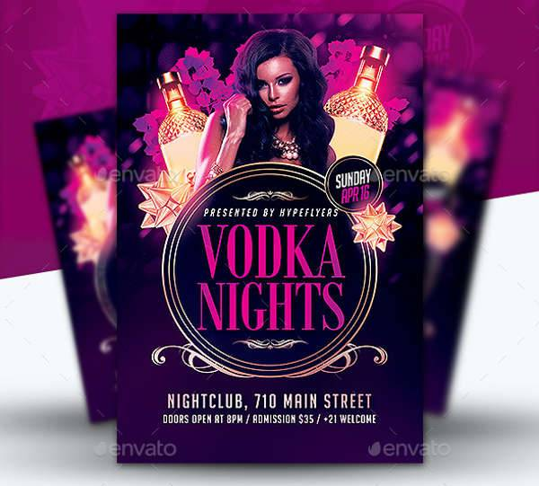 Classy Drinks Party Flyer