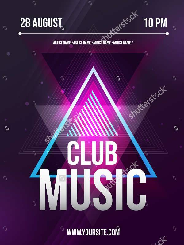 Club Dj Party Flyer