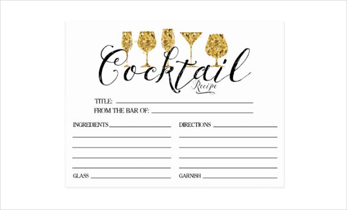 15  recipe card designs