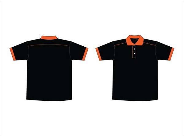 collar t shirt template