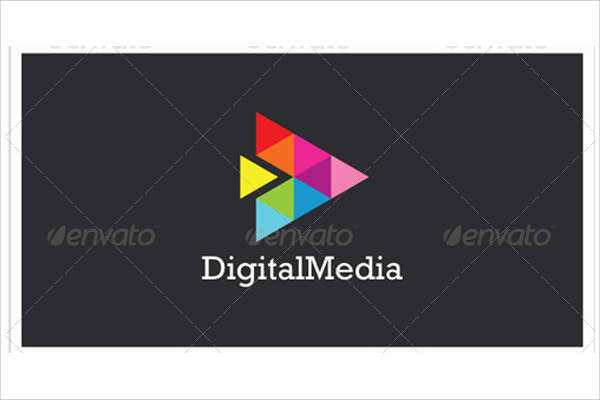 colorful digital business logo