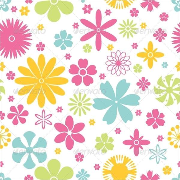 colorful spring pattern