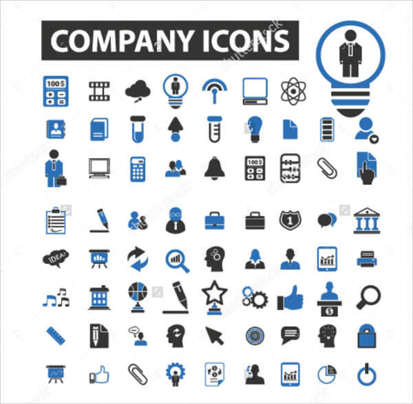 Company Vector Icons