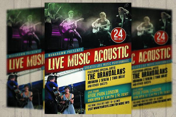 Concert Flyer Poster