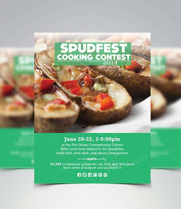 Cooking Contest Flyer