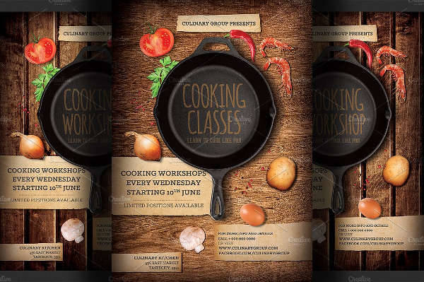 21 cooking flyer designs word psd ai eps vector