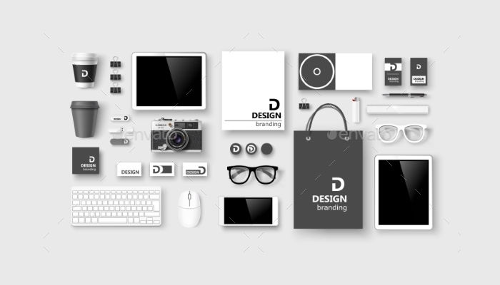 corporate branding concept