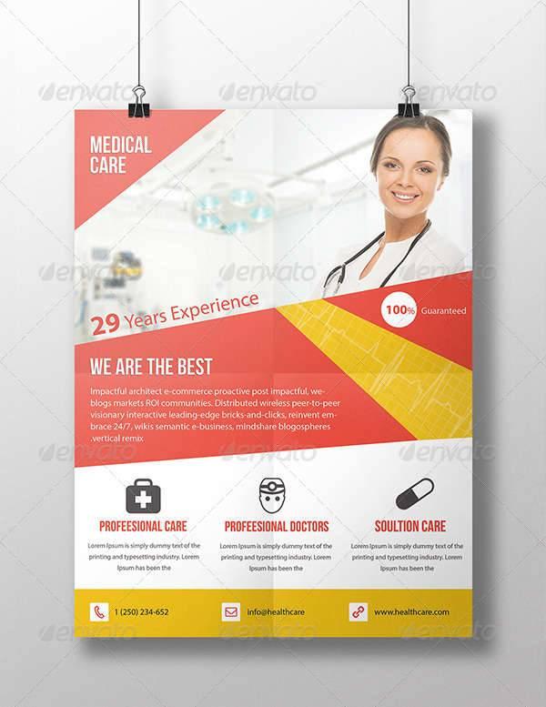Corporate Health Care Flyer