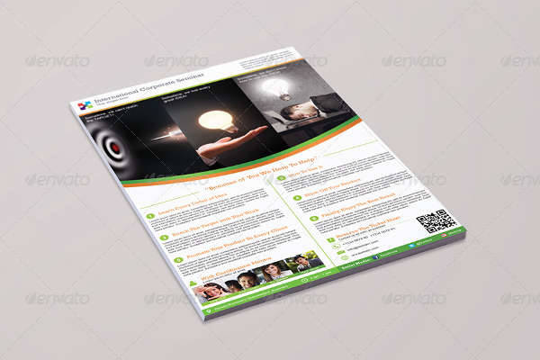 Corporate Seminar & Event Flyer