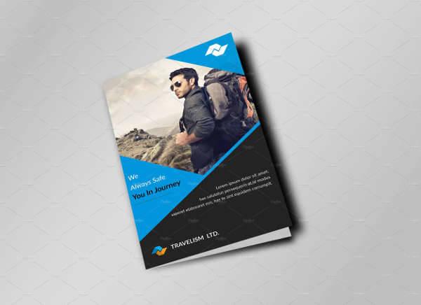 Corporate Travel Bi-Fold Brochure