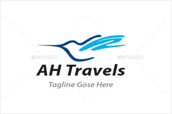 corporate travels business logo
