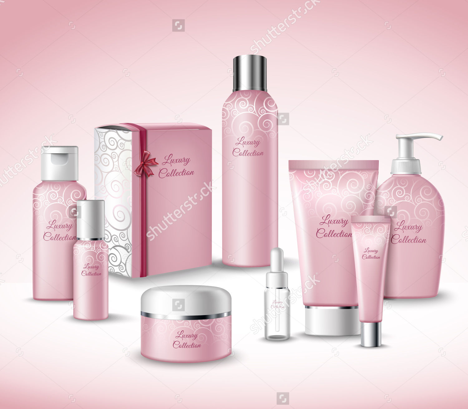 cosmetic luxury beauty care packages set