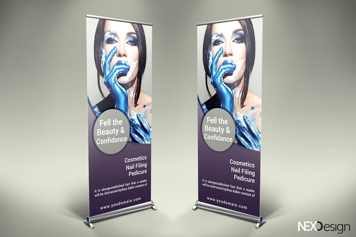 Cosmetic Product Ad Banners