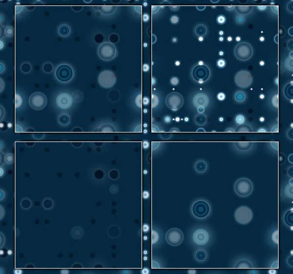 cosmic dots patterns
