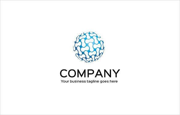 creative company logo template