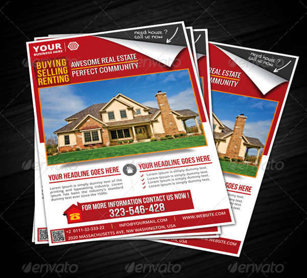 Creative Real Estate Flyer