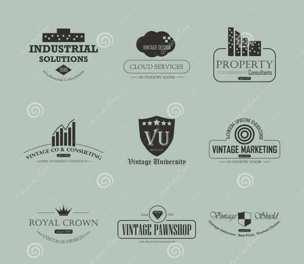creative vintage business logo