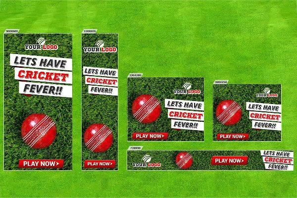 cricket banner set